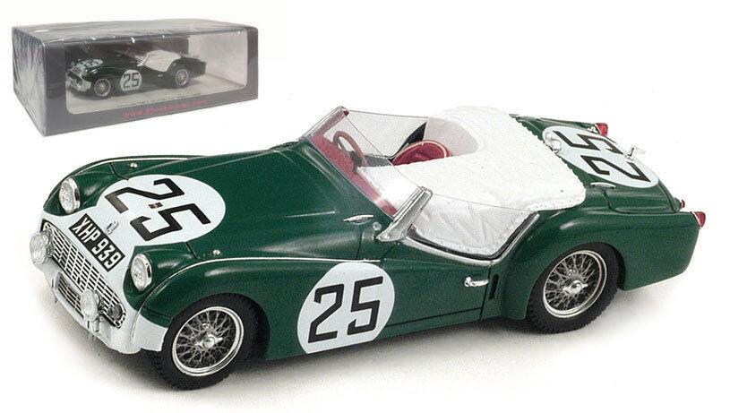 Spark S1395 Triumph TR3 S Le Mans 1959 - Jopp Stoop 1 43 Scale