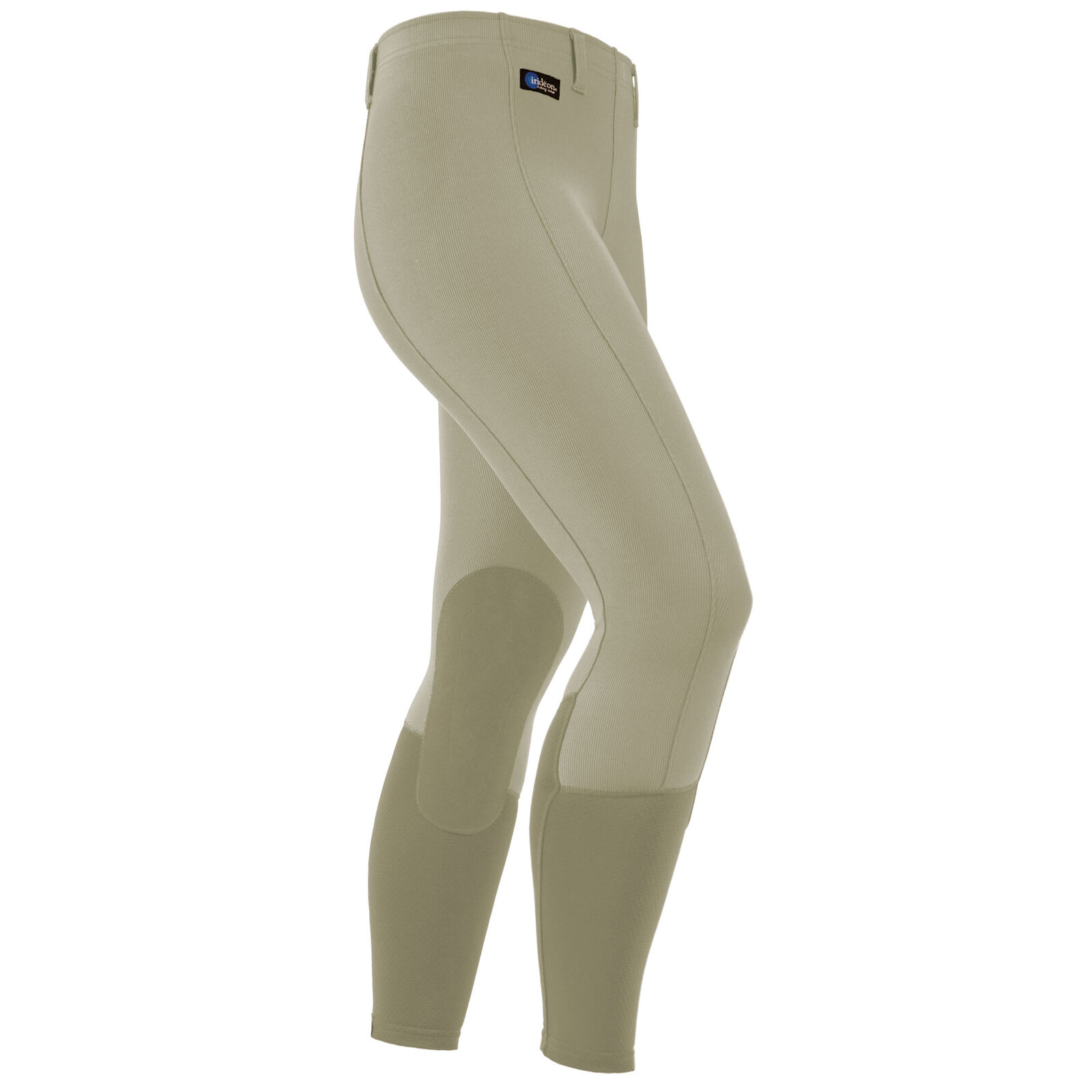 Irideon Cadence Knee Patch Riding Breeches with Gripper Elastic at Ankle