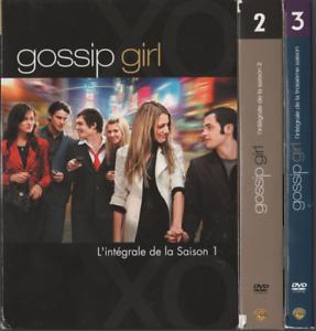Serie-Gossip-Girl-Dvd-L-039-integrale-Des-Saisons-1-2-3-1-a-3