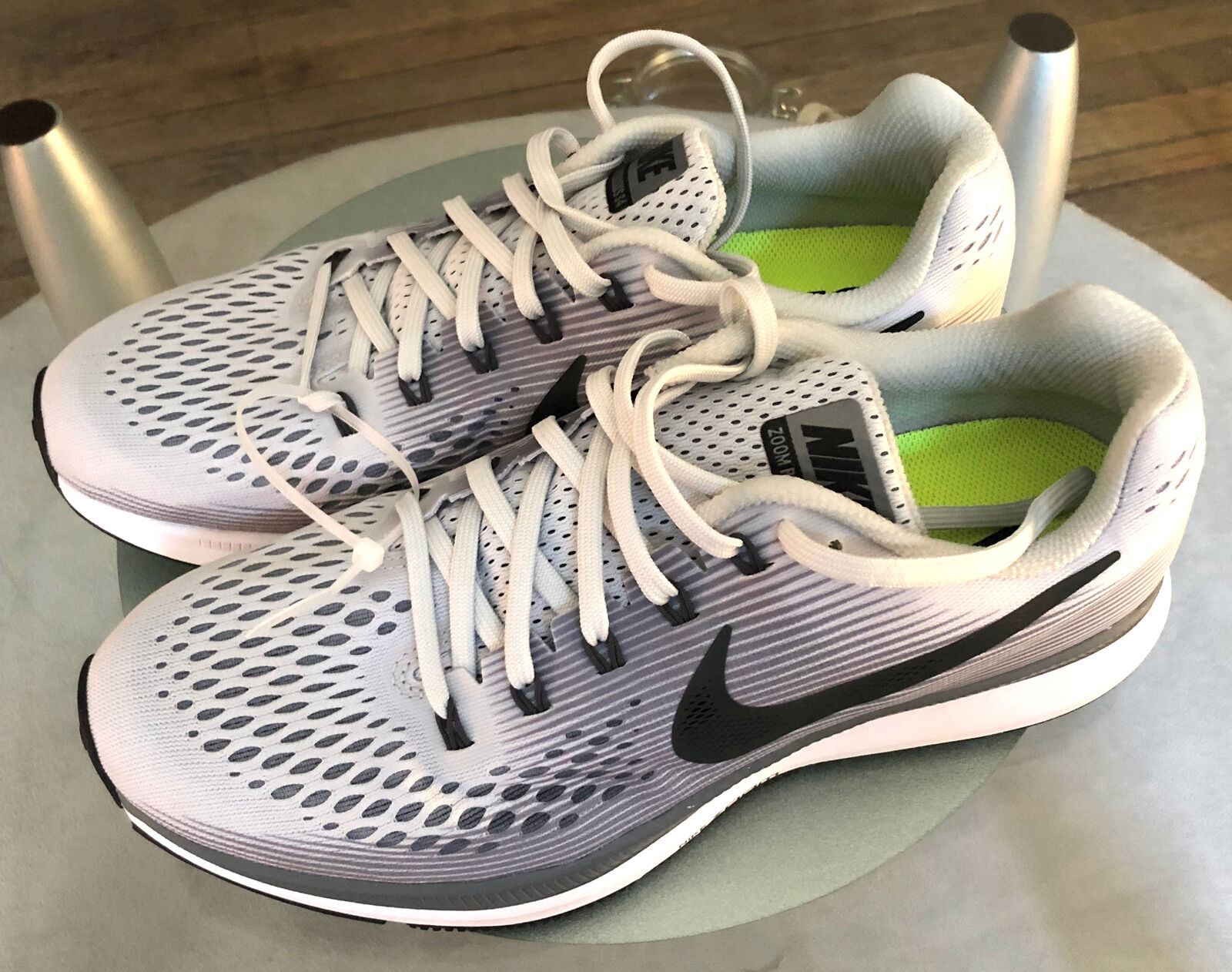 Nike Air Zoom Pegasus 34 Pure Platinum Anthracite Men Running shoes 880555-010