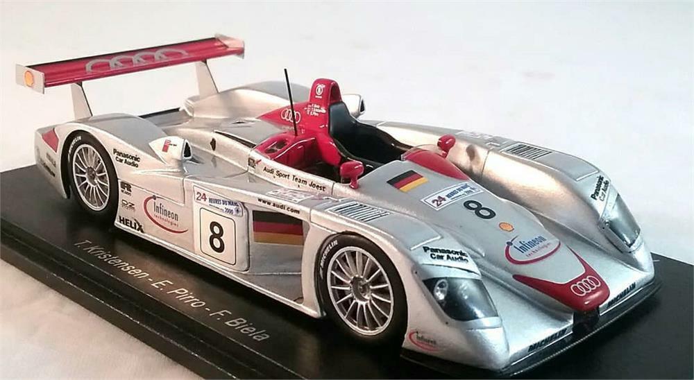 Audi R8 No.8 LE MANS vainqueur 2000 à l'échelle 1 43 par Spark