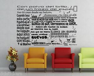Vinilo decorativo #671# MANOLO GARCIA SEGUNDA PARTE