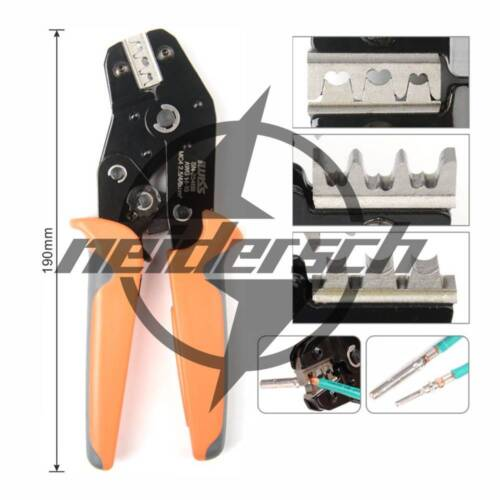 IWISS MC4 Solar PV Connector Crimping Tools for for AWG14-10 2.5//4//6mm2 Solar PV