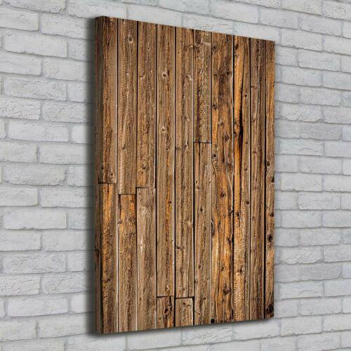 Leinwand-Bild Kunstdruck Hochformat 70x100 Bilder Holzwand