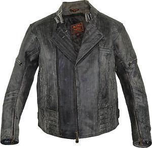 Herren-Retro-Motorrad-Lederjacke-aus-Rindsleder-in-Antik-Grau-Biker-Jacke
