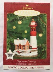 Hallmark 2000 Magic Lighthouse Greetings #4 In Series ...