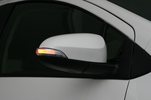 Side Mirror LED Turn Signal Toyota C-HR Camry Yaris Corolla Prius C DRL White