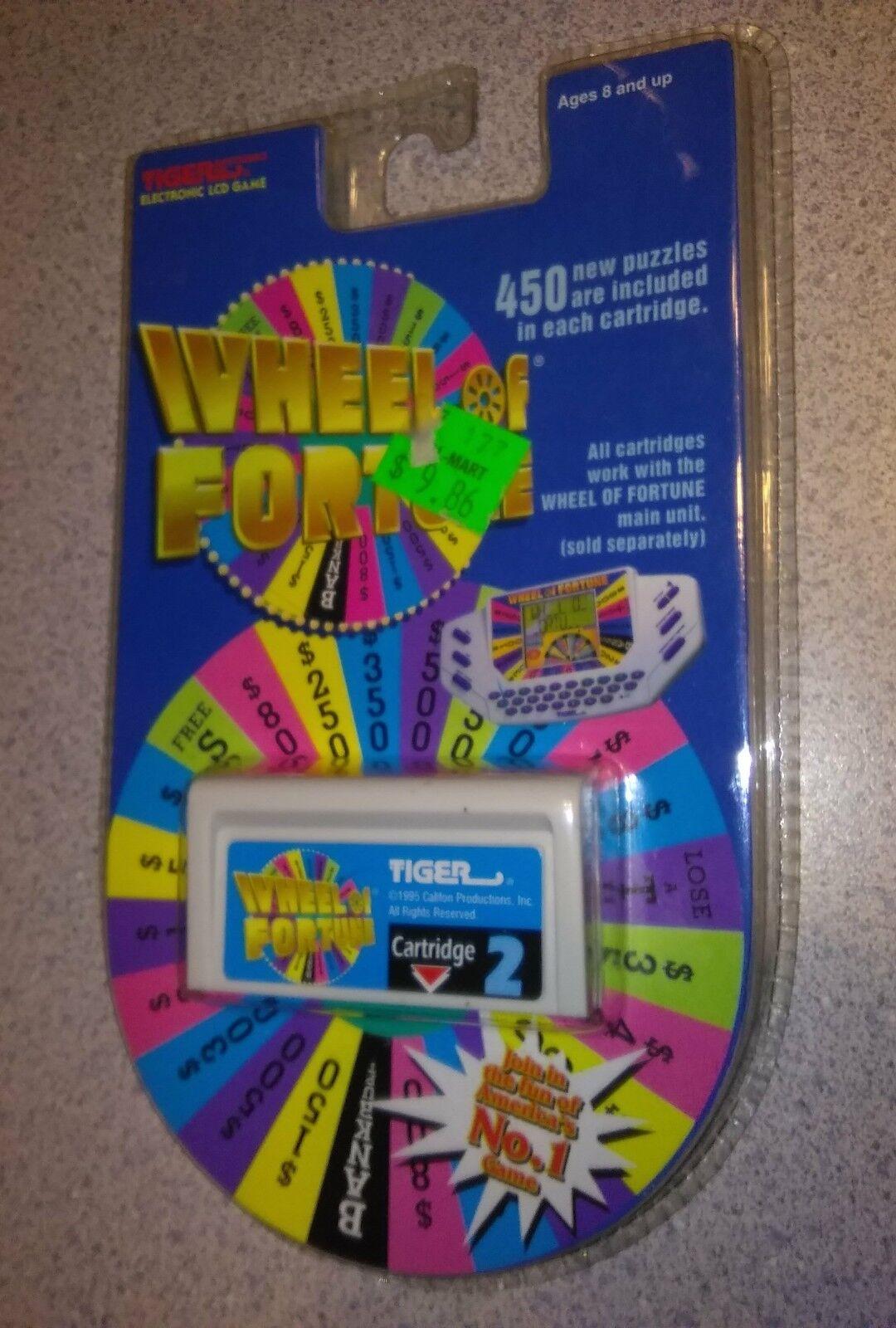 Tiger Wheel of Fortune Cartridge