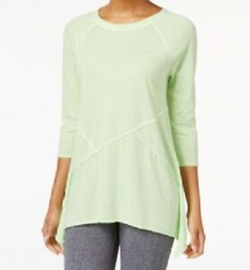 Calvin-Klein-Performance-Women-039-s-3-4-Sleeve-Active-Yoga-Top-Assorted-Colors