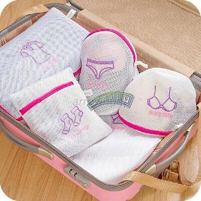 Socks Bra Laundry Underwear Care Wash Washing Bag Travel Zipper Organizer Hot