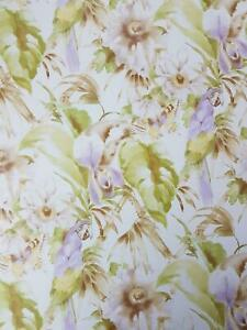 Details About Tropical Parrot Butterfly Floral Wallpaper Purple Green Pre Pasted Vinyl Norwall