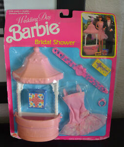 image is loading wedding day barbie bridal shower 1990 no 7267