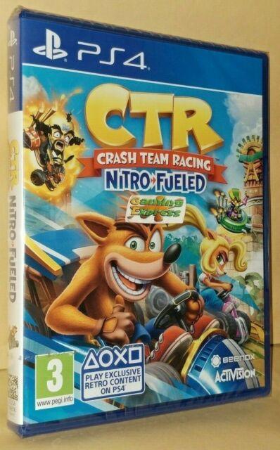 Crash Team Racing Nitro-Fueled Playstation 4 NEW SEALED Free UK p&p Pal UK STOCK