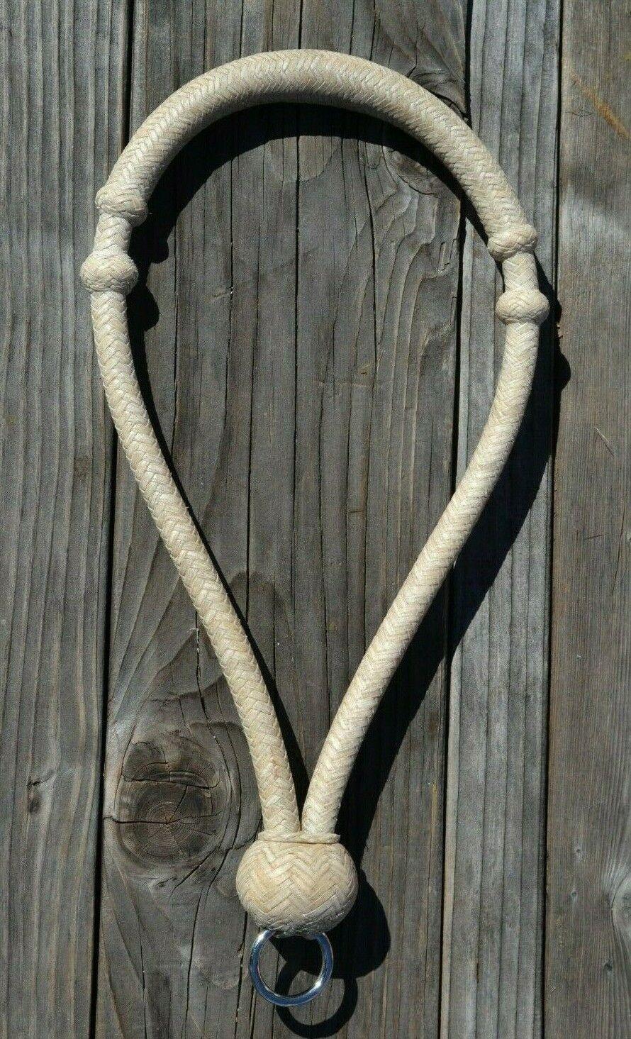 Jose Ortiz 1.3cm Todo Natural Cuero sin Curtir BOSAL - rojoondo Knot con Anillo -