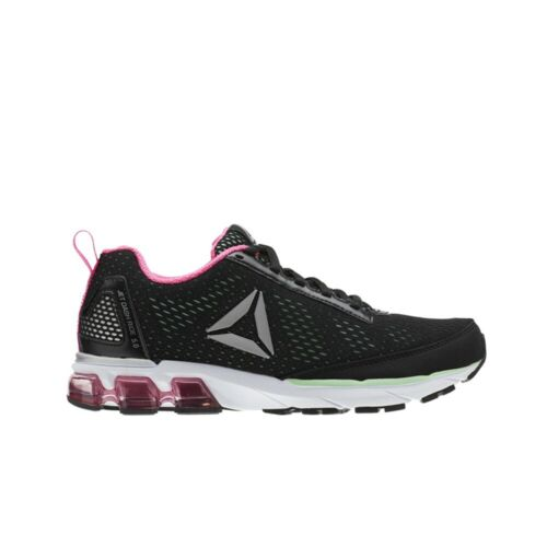 Reebok Jet Dashride 5.0 Women/'s Shoes Black//Mint//Solar Pink//White