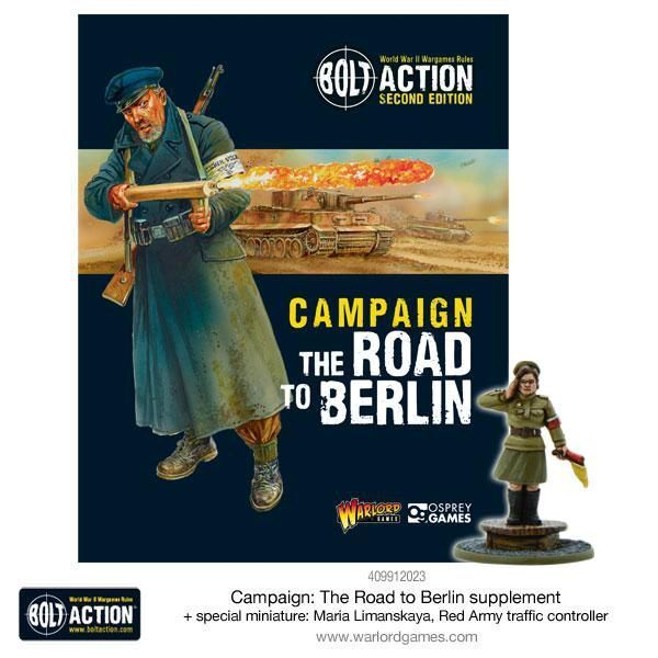 Warlord Games Bolt Action Campaign The Road to Berlin (English) incl. Miniature