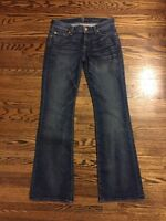 7 For All Mankind Bootcut Jeans Size 26 Medium Wash