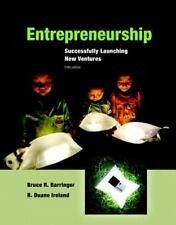 Entrepreneurship : Successfully Launching New Ventures by Bruce R. Barringer and R. Duane Ireland (2015, Hardcover)
