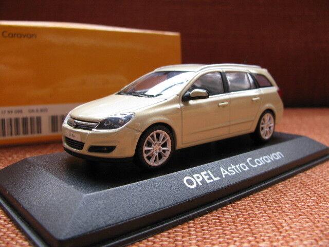 1 43 Minichamps Opel Astra Caravan   Vauxhall Astra diecast