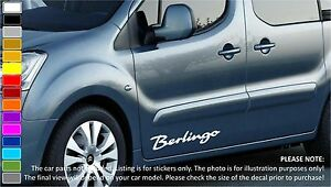 CITROEN BERLINGO Car Body Tuning Custom Vinyl Sticker Decal - Custom vinyl stickers for cars
