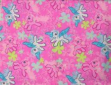 2006 Hasbro My Little Pony Star Catcher Pinkie Pie Flowers 4 Yards Pink Fabric