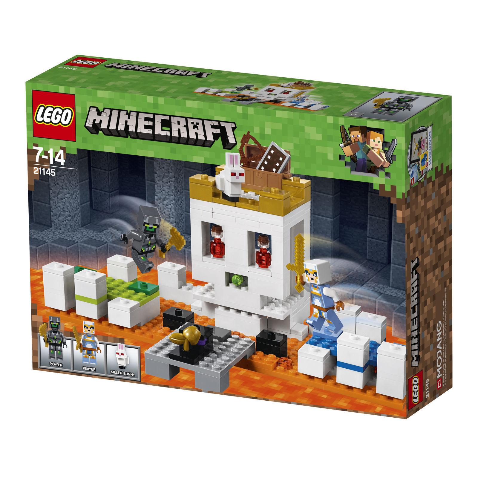 Lego Lego Lego Minecraft los muertos cabeza arena (21145) 1a5b64
