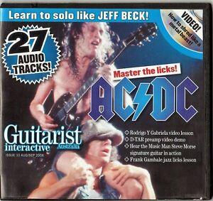 GUITARIST AUSTRALIA, ISSUE 10, Aug/Sept. 2006 Interactive CD.