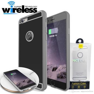 qi wireless charging case induktion h lle f r apple iphone 6 6s 7 plus kabellos ebay. Black Bedroom Furniture Sets. Home Design Ideas