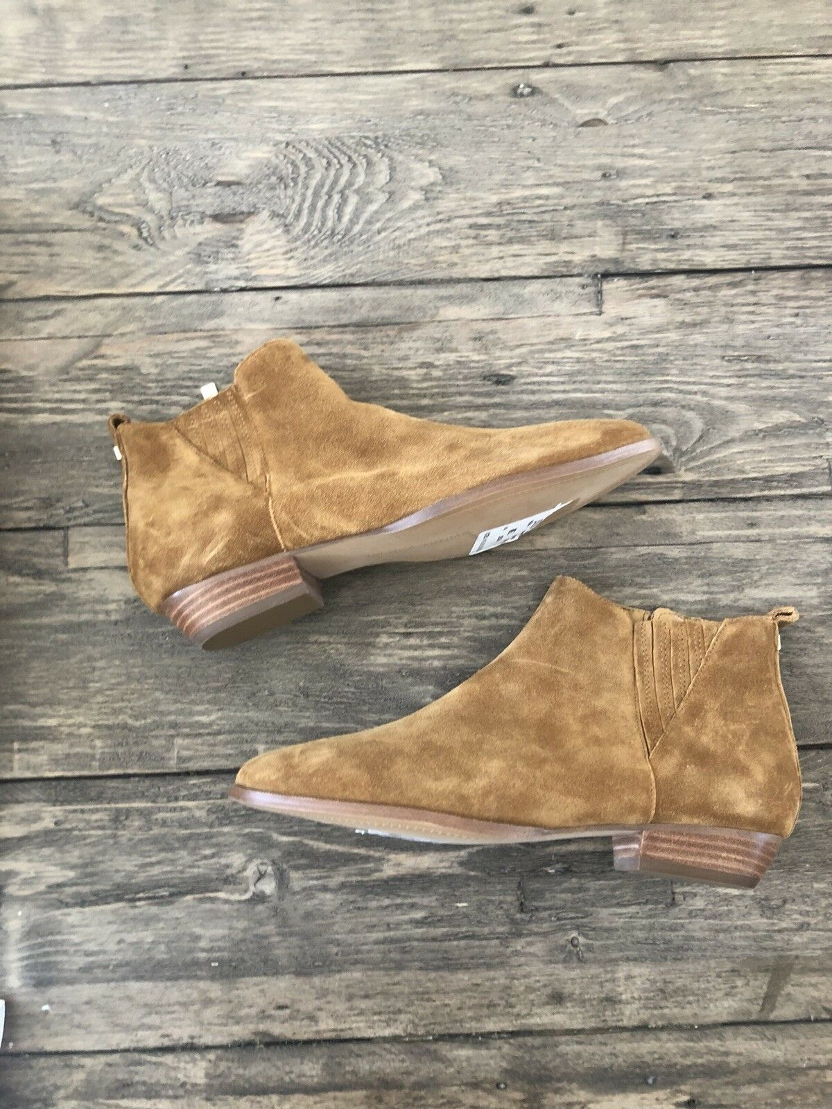 Ivanka Trump Avali Brown Camel Womens shoes Size 7.5 M Boots MSRP