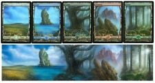 Magic MTG Full Art Foil Judge Promo Lands - Terese Nielsen Panorama UNOPENED