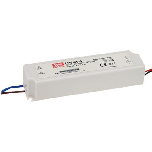LED Netzteil 60W 48V 1,25A ; MeanWell LPV-60-48 ; Schaltnetzteil