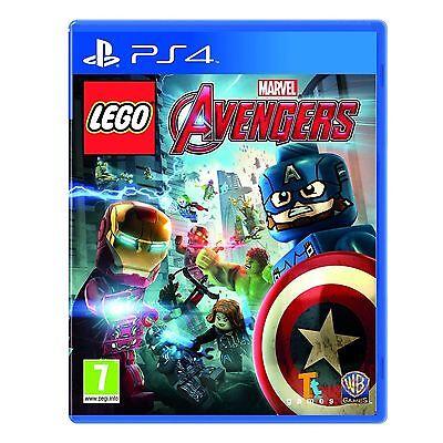 LEGO MARVEL AVENGERS - Playstation 4 PS4 - NEW & SEALED - UK RELEASE