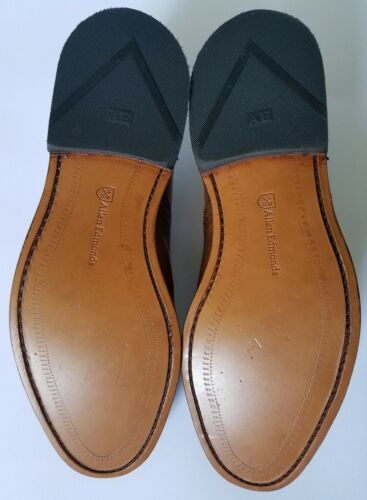 3E Allen Edmonds Strand Walnut Captoe Oxford Shoes Size 8