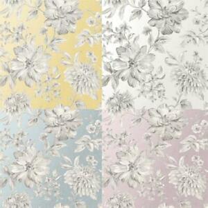 Fine-Decor-Lucia-Floral-Metallic-Effect-10m-Wallpaper-4-Colours
