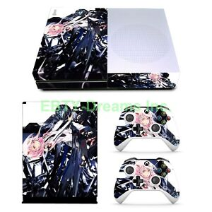 Video Game Accessories Video Games & Consoles Guilty Crown Anime Girl Inori Vinyl Skin Sticker Decal Protector Xbox One S Slim