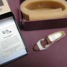 """Just The Right Shoe """"brogue Ballyhoo"""" by Raine Biltmore Collection #25416"""