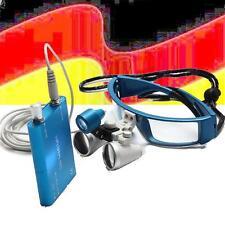 HOT 3.5X Dental Kopflupe Lupenbrille Lupe loupes 420mm w Dental LED Headlight DE