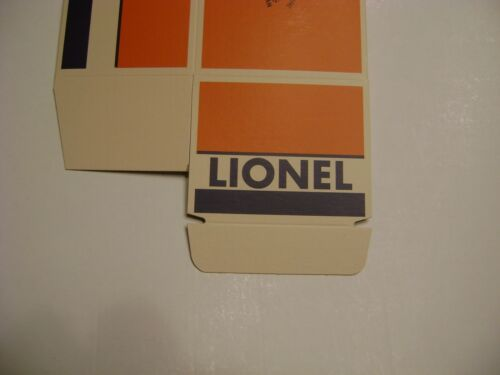 Lionel Unnumbered B Unit Box w//insert licensed reproduction