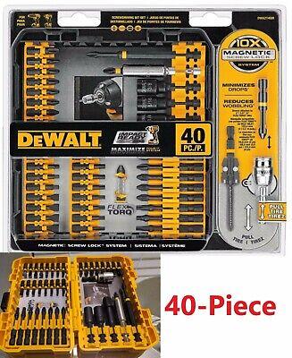 MAGNETIC SCREWDRIVER BIT SET Impact Ready Drill Driver Bits 208 Piece Tool Kit