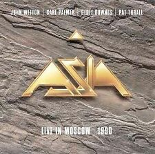 ASIA - Live in Moscow 1990 by Asia (Rock) (CD, Eagle Records) John Wetton