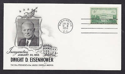 Dwight Eisenhower Official 1953 Inauguration Program FREE SHIPPING