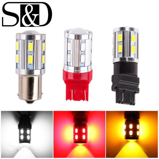 12SMD CREE XPE Super Bright Car LED Reverse Brake Tail Stop Turn Light Bulb Lamp