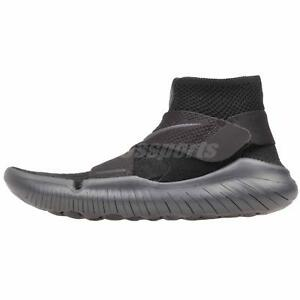 aab53bc4b8e6 Nike Free RN Motion FK 2018 Running Mens Shoes Black Anthracite ...