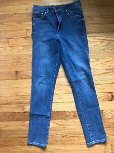 8b73ab8a9 H&M Women's Vintage High Waist Skinny Ankle Jeans Denim Blue Size 28 ...