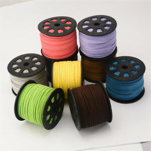 Suede-Cord-2-6mm-Thread-String-For-Bracelet-Necklace-Jewelry-Making-5-Metres