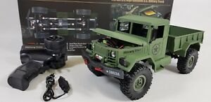 OFF-Road-Heng-Long-Radio-Remote-Control-RC-Truck-Tank-4WD-Military-Army-Jeep