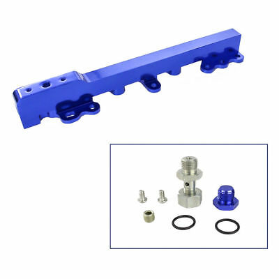 HONDA CIVIC CRX 88-00 SOHC BLUE INTAKE FUEL INJECTOR RAIL KIT BILLET ALUMINUM