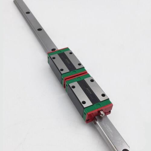 HIWIN HGR15 Linear Rail Guide with HGH15CA HGW15CC Rail Block Slider Engraving