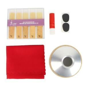 Tenor-Saxophone-Mute-Pad-Reed-Cleaning-Cloth-Tool-Kits-Sax-Saxophone-Accessories