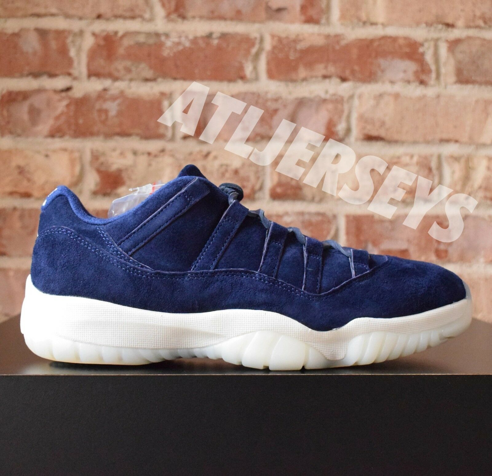 95af3f9b155 Nike Air Jordan 11 XI Retro Low Binary Derek Jeter RE2PECT Binary Low Blue  AV2187-